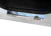 Volkswagen T5 Transporter 2003-2010 гг. Накладки на карниз Laser (2 шт, нерж)
