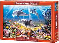 Пазлы Castorland на 500 элементов Подводный мир B-51014