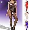 Эротическое белье. Сексуальный комплект Эротический боди-комбинезон Rafaello (44 размер размер M)