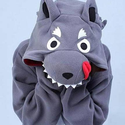 Пижама Кигуруми Волк для всей семьи Украина Размер 181-200+ см, фото 2