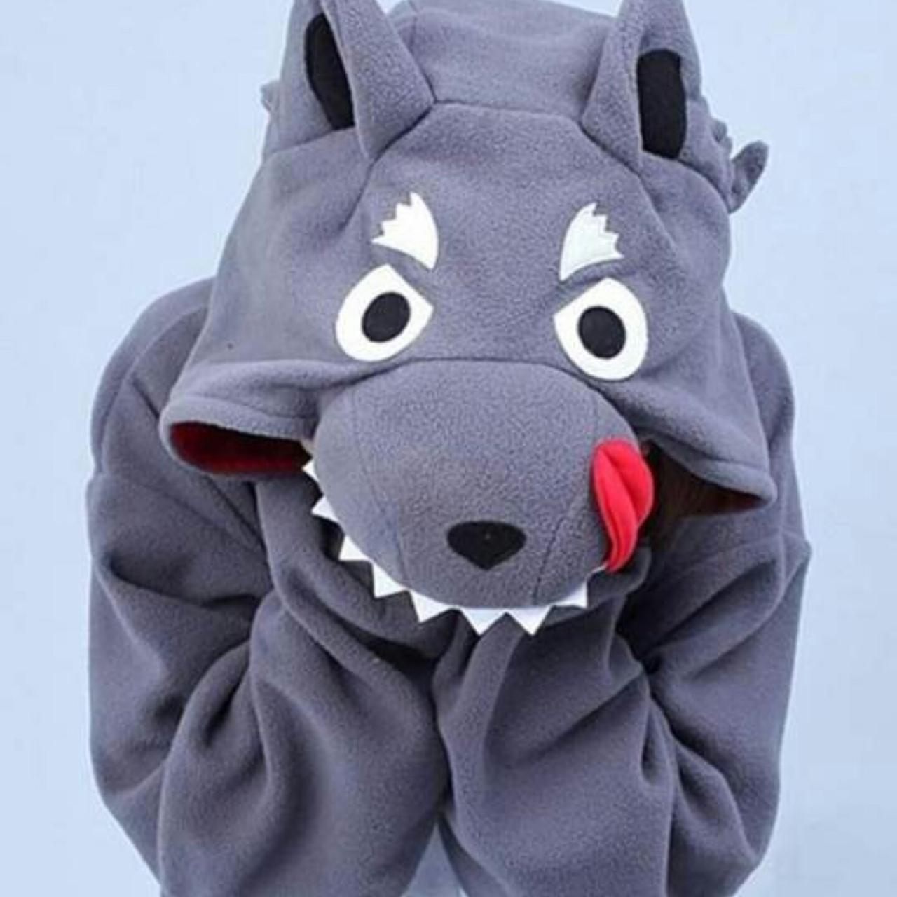 Пижама Кигуруми Волк для всей семьи Украина Размер 110-128 см