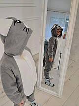 Пижама Кигуруми Мышка для всей семьи Украинского производства Размер 181-200+ см, фото 3