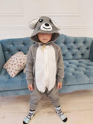 Пижама Кигуруми Мышка для всей семьи Украинского производства Размер 155-180 см, фото 2
