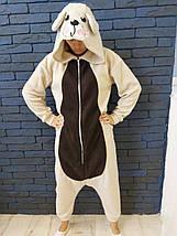 Пижама Кигуруми Медведь для всей семьи от Украинского производителя Размер 155-180 см, фото 3