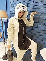 Пижама Кигуруми Медведь для всей семьи от Украинского производителя Размер 110-128 см, фото 2