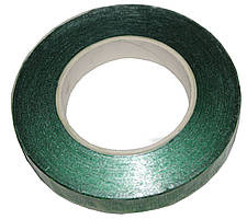 Флористическая лента металлик (тейп лента) Зеленый