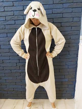 Пижама Кигуруми Медведь для детей и взрослых от Украинского производителя Размер 110-128 см, фото 2