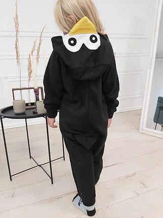 Пижама Кигуруми пингвин для всей семьи Украина Размер 181-200+ см, фото 2