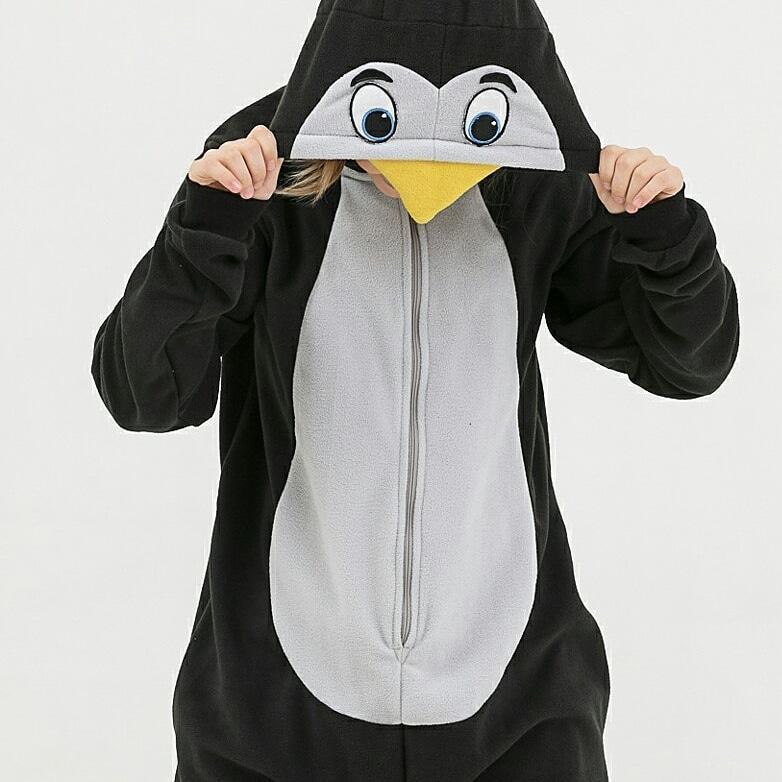 Пижама Кигуруми пингвин для всей семьи Украина Размер 134-152 см