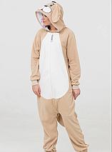 Пижама Кигуруми Песик для детей и взрослых от Украинского производителя Размер 155-180 см, фото 2