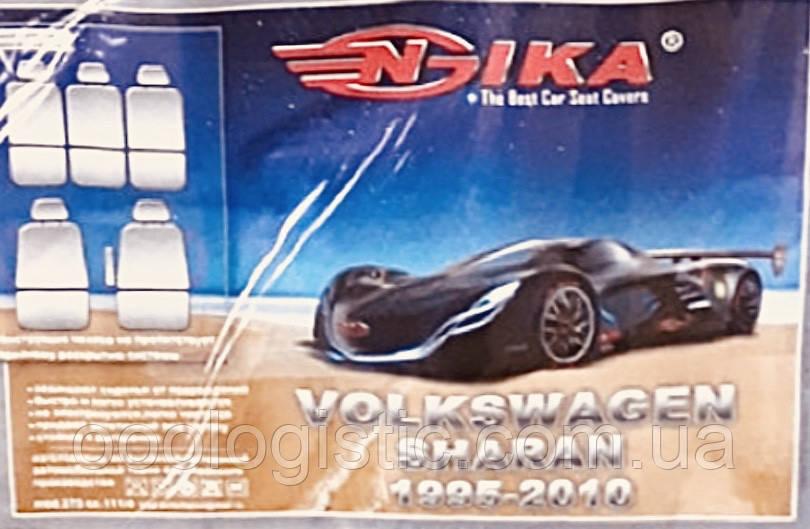 Авточехлы Nika на Volkswagen Sharan(1995-2010) 7 мест, Nika Фол