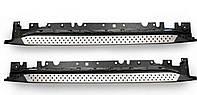 BMW X6 E-71 2008-2014 гг. Оригинальные пороги (2 шт, алюминий)