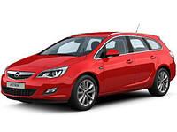 Opel Astra J 2010↗ гг. Полная окантовка стекол (Sport Tourer, 12 шт, нерж), фото 1