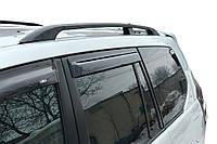 Toyota LC 120 Prado Рейлінги Чорні турецькі Пластикові ніжки