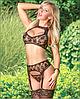 Эротическое белье Сексуальное боди  Эротический комплект ''Lolitta''  (38 размер размер XS )