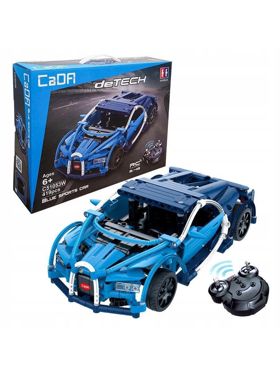 """Конструктор радиоуправляемый C51053W, CaDa Technic 2.4G """"Bugatti Chiron"""", 419 деталей."""