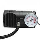 Автомобільний компресор авто насос від прикурювача 12в Air Compressor чорний, фото 4