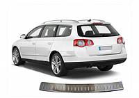 Volkswagen Passat B6 2006-2012 гг. Накладка на задний бампер OmsaLine (только на SW)