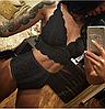 Эротическое белье Сексуальное белье. Эротическое боди. Эротический комплект белья .(44 размер Размер M)