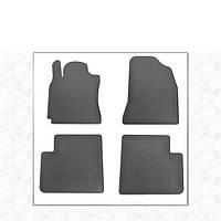 Chery Tiggo 2014-2017 гг. Резиновые коврики (4 шт, Stingray Premium)