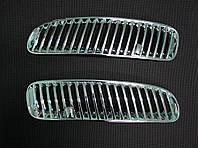 BMW X5 E-53 1999-2006 гг. Накладки на воздуховоды (2 шт, пласт)