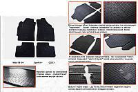 Daewoo Matiz 1998-2008 рр. Гумові килимки (4 шт, Stingray Premium)