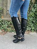 Женские Шикарные высокие сапоги натуральная замша или натуральная кожа,, фото 9