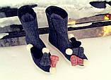 Полусапожки-валенки с чудными шапочками, фото 3