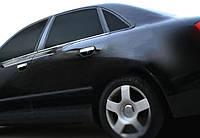 Audi A4 B7 2004-2008 гг. Нижние молдинги стекол (4 шт., нерж)