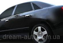 Audi A4 B7 2004-2008 рр. Нижні молдинги стекол (4 шт., нерж)