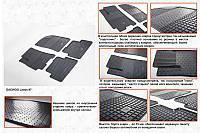 Daewoo Lanos Резиновые коврики (4 шт, Stingray) Premium - без запаха резины