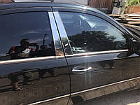 Mercedes E-klass W211 Молдинги дверных стоек (6 шт, нерж)