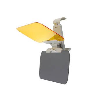 Козырек Lesko автомобильный солнцезащитный антибликовый HD Vision Visor
