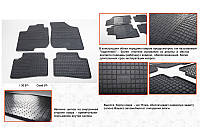 Kia Ceed 2007-2012 рр. Гумові килимки (4 шт, Stingray Premium)
