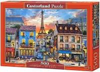 Пазлы Castorland на 500 элементов Улицы Парижа B-52684
