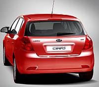 Kia Ceed 2007-2012 рр. Кромка багажника (HB, нерж.)