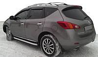Nissan Murano 2008-2014 гг. Боковые пороги Fullmond (2 шт, алюм.)