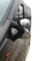 Nissan Primastar 2002-2014 гг. Накладки на зеркала (2 шт) Carmos - Турецкая сталь