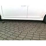 Chevrolet Cruze 2009↗ рр. Тюнінгові пороги SD (Meliset, під фарбування), фото 2