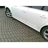 Chevrolet Cruze 2009↗ рр. Тюнінгові пороги SD (Meliset, під фарбування), фото 3