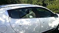 Renault Megane III 2009-2016 гг. Нижняя окантовка стекол (HB, 6 шт, нерж.)