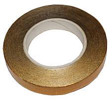 Флористическая лента металлик (тейп лента) Золото