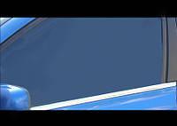 Suzuki Grand Vitara 2005-2014 гг. Окантовка стекол (4 шт, нерж)