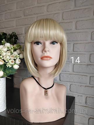 Парик каре блонд парик боб каре блондинка, фото 2