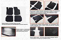 Seat Toledo 2000-2005 гг. Резиновые коврики (4 шт, Stingray) Premium - без запаха резины