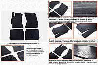 Subaru Forester 2008-2013 рр. Гумові килимки (4 шт, Stingray Premium)