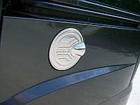 Fiat Doblo II 2005↗ гг. Накладка на бак (нерж.) OmsaLine - Итальянская нержавейка, фото 1