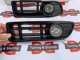 Volkswagen Bora 1998-2004 рр. Протитуманки (галогенні), фото 4