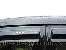 Chevrolet Cruze 2009↗ рр. Вітровики SD (4 шт, Aomis)