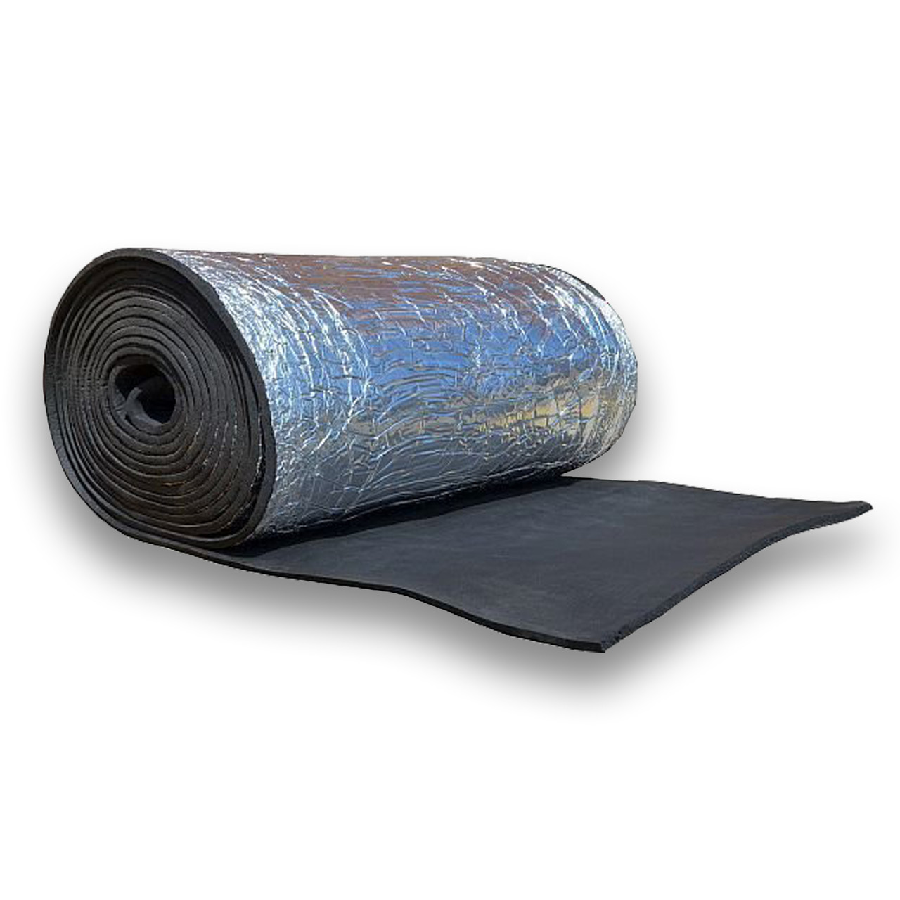 Шумоизоляция каучуковая с металлизацией 9 мм